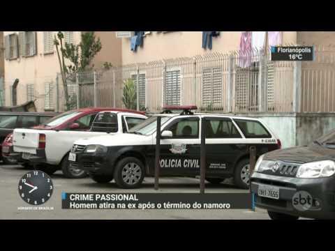 Mulher é baleada pelo ex-namorado em São Paulo - SBT Brasil (05/08/17)