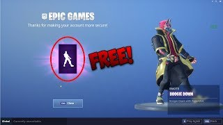 How To Get The BOOGIE DOWN Emote for FREE in FORTNITE! (Easy 5 Mins!)