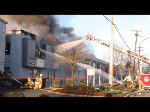 Building Fire Becomes Uncontrollable