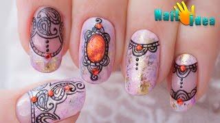 Дизайн ногтей ШЕЛЛАКОМ с Кружевом