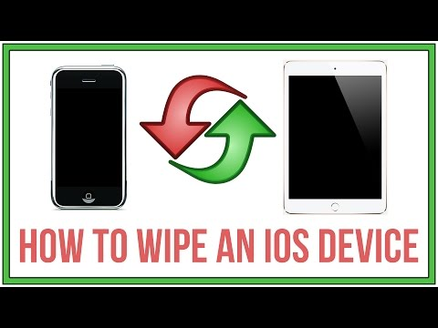 How To Erase/Wipe and Factory Reset Your iPhone and iPad - iOS7 iOS8 iOS9