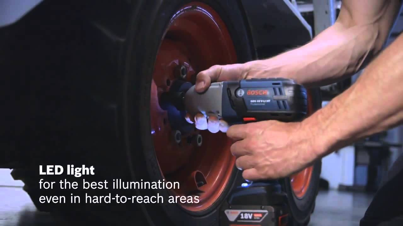 Bosch Blue Professional Gds 18v Li High Torque Impact Wrench 650nm You