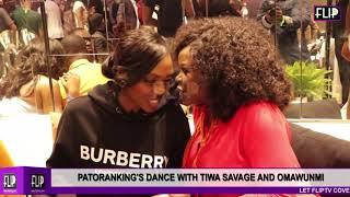 PATORANKING39S DANCE WITH TIWA SAVAGE AND OMAWUNMI