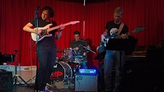 Rob Garland's Eclectic Trio Live 2015 Jazz Rock Fusion Power Trio