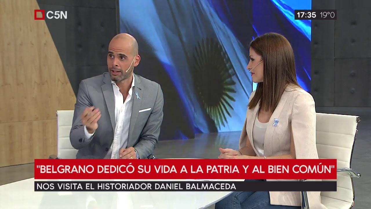 Entrevista al historiador Hernán Balmaceda por el Día de la Bandera