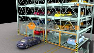 Hydraulic Parking System Philippines Home Car Lift Equipment