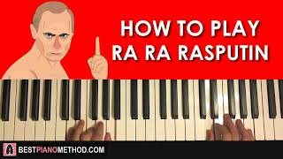 HOW TO PLAY - RA RA RASPUTIN (Piano Tutorial STEP BY STEP LESSON)
