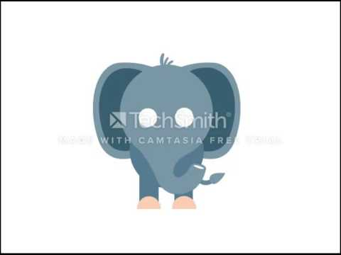 Animated Funny Elephant Powerpoint Template Youtube