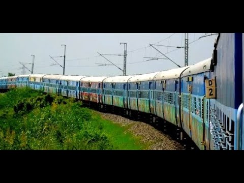 HYDERABAD to VIJAYAWADA : Action Filled InterCity Express : Circular Trip Part 3 [Full HD]