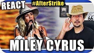 MILEY CYRUS Ao Vivo - Marcio Guerra Canto Reagindo Live Music React Reação Pop