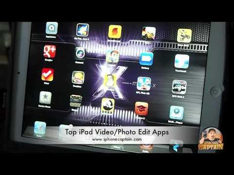 Top Video/Photo iPad Apps 2012