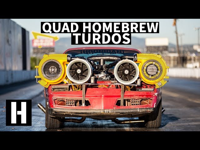 Homemade QUAD Turdo Setup: Will it Work on Our Now Fixed-Up Firebird?