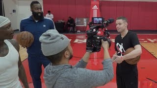The Professor Teaches James Harden a Signature Move 'The Teleport' thumbnail