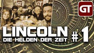 Thumbnail für GameTube Pen & Paper: Lincoln: Die Helden der Zeit #1 - Ein schicksalhaftes Treffen