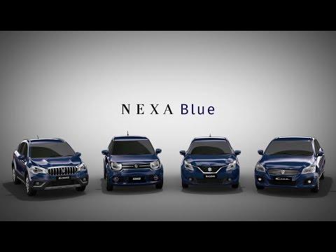 Meet NEXA Blue. A signature shade created exclusively for NEXA.