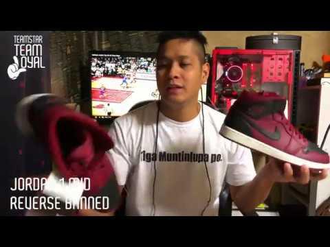 Air Jordan 1 Mid Reverse Banned - YouTube