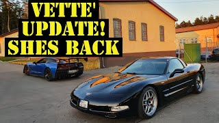Quick update on the corvette and whats next for her!