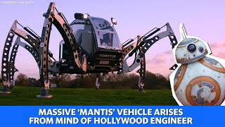Star Wars and Harry Potter animatronics engineer created massive 'Mantis' vehicle