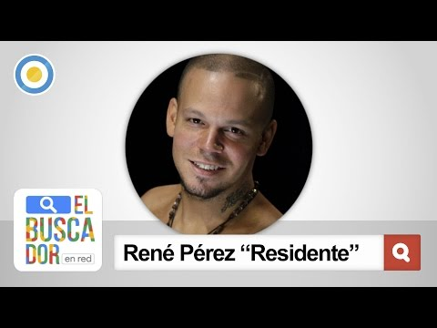 "René Pérez Joglar ""Residente"" en El Buscador en Red"