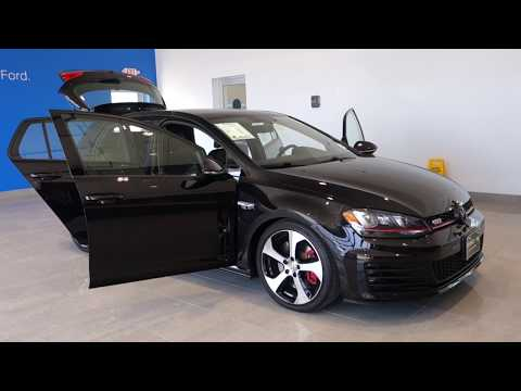 USED 2017 VW GOLF GTI FOR SALE - 800 655 3764 # F802750A