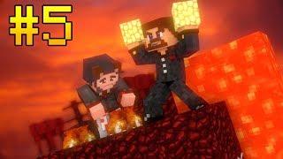 ВЫЖИВАНИЕ НА ОДНОМ ЧАНКЕ С АЧИВКАМИ #5 - МЫ ПОПАЛИ В АД - Minecraft Прохождение Карты
