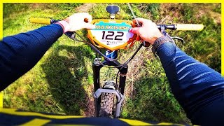 Racing Downhill Again Remİnded Me Why I Stopped !!!   Powder Ridge Eastern States Cup