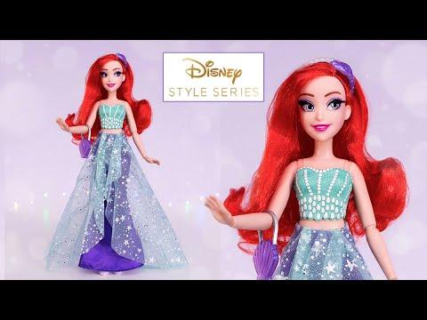 Современная Русалочка Ариэль от Hasbro - Disney Style Series 2019 ★ Обзор на куклу