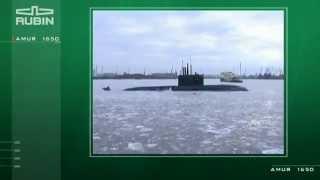Amur 1650 class submarine