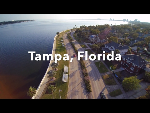 Bayshore & Downtown Tampa in Florida/Best Drone Shots