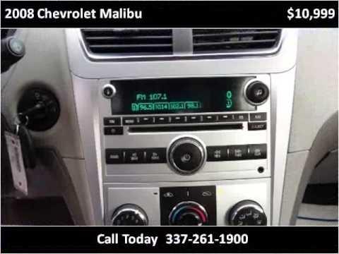 2008 Chevrolet Malibu Used Cars Lafayette LA