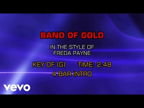Freda Payne - Band Of Gold (Karaoke)
