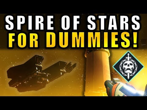 Destiny 2: SPIRE OF STARS Raid Lair FOR DUMMIES! | Complete Raid Guide & Walkthough