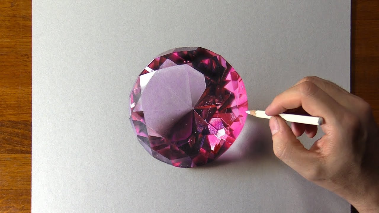 Drawing Pink Diamond 🤩