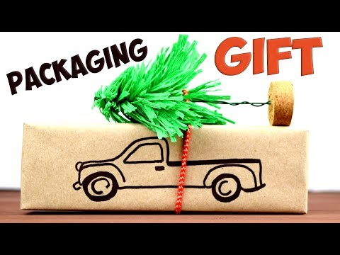 DIY Beautiful PACKAGING GIFT for the New Year