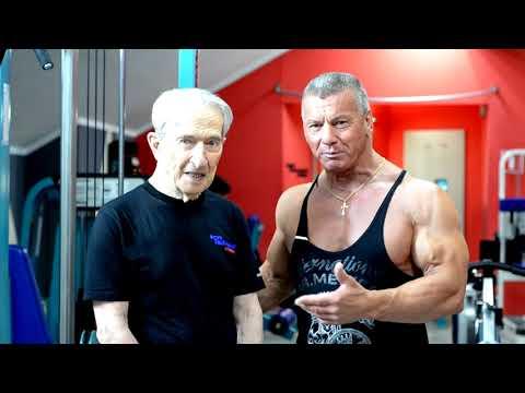 Заниматься фитнесом можно и нужно в любом возрасте! Виталию Иосифовичу - 89 лет