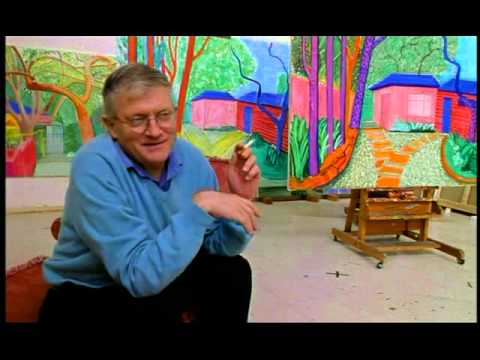 Who Gets to Call it Art - David Hockney