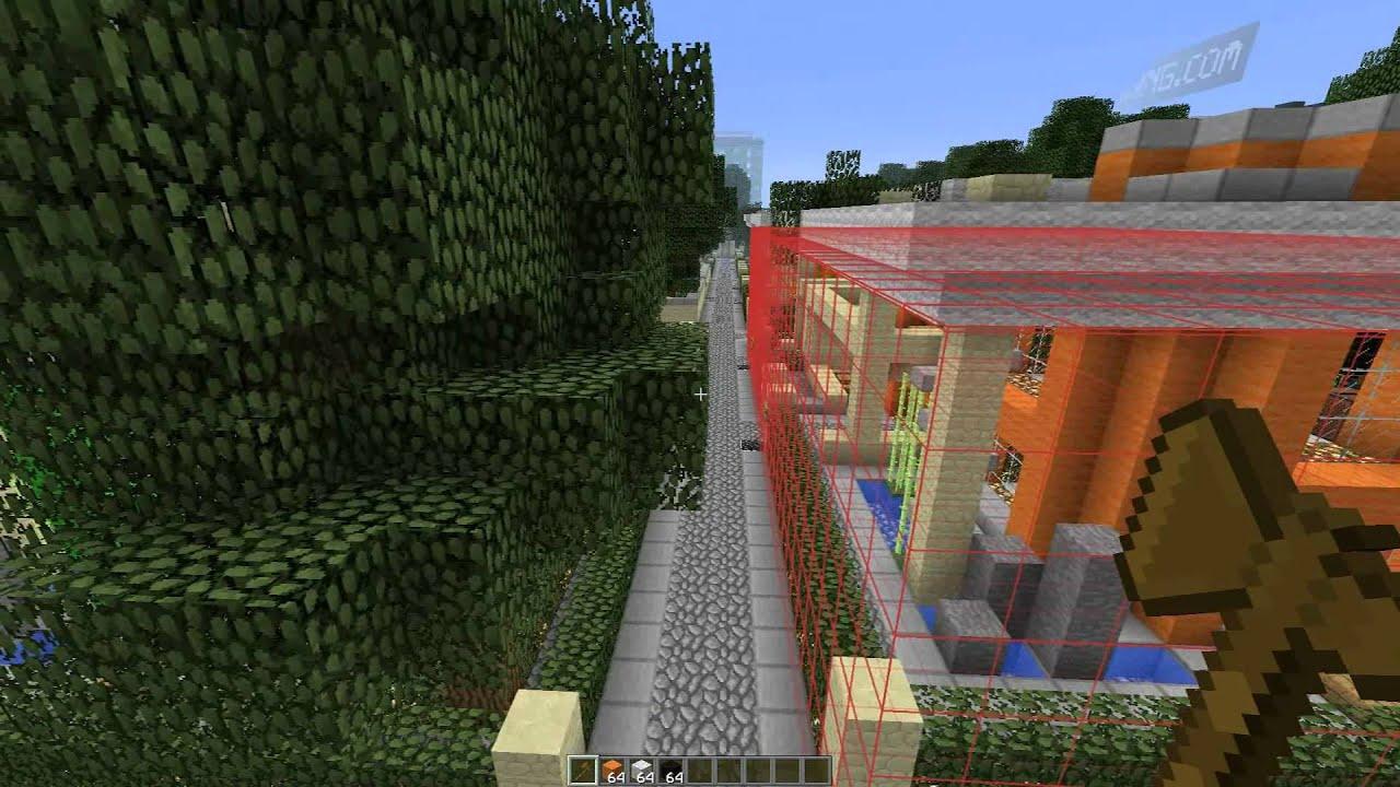 Minecraft: How-to Use WorldEdit Schematics - YouTube on