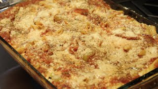 Pasta / Italian /  Baked Penne Recipe / Cheryls Home Cooking