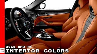 2018 BMW M5 Interior Colors