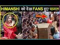 Himanshi Khurana MOBBED By Fans At An Event In Lucknow