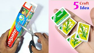 5 Amazing Best Out Of Waste Craft Idea | DIY Art And Craft | 5 Genius Best Out Of Waste Craft