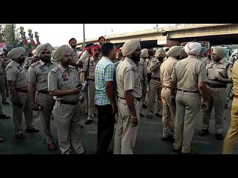 2 April Bharat Bandh : vekho Ludhiana police di tyari(2)