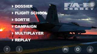 FA-18 Hornet Sim - Mission: Top Water(Accomplished)