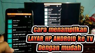 Video Cara menampilkan Layar hp android ke tv dengan mudah download MP3, 3GP, MP4, WEBM, AVI, FLV Juli 2018