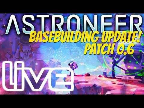 🔴 ASTRONEER Livestream: New Patch 0.6.5 - All New Rovers!