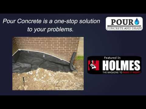 Basement Waterproofing, Underpinning and Concrete Foundation Repair Contractors Toronto