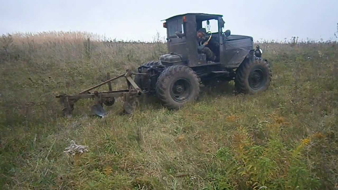 трактор оре газ 63 - YouTube