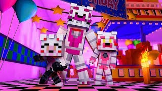 A New Fnaf Pizzeria is in Town?! (Minecraft Daycare Roleplay)