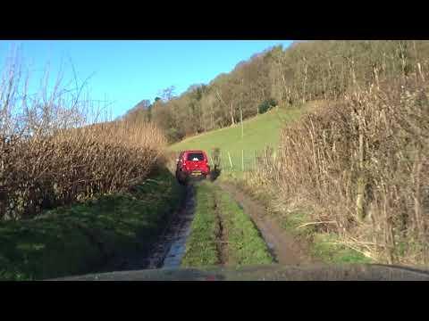 RocketMav Lane003b Gwyddelwern North Wales 25Mar18