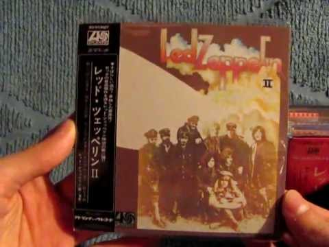 led zeppelin definitive collection of mini lp replica cds unpackaging youtube. Black Bedroom Furniture Sets. Home Design Ideas
